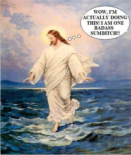 jesusonwater