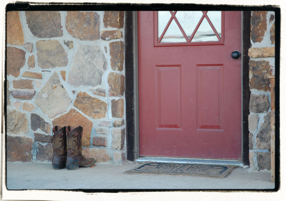 I Will  Always Miss Seeing Your Boots By The Door